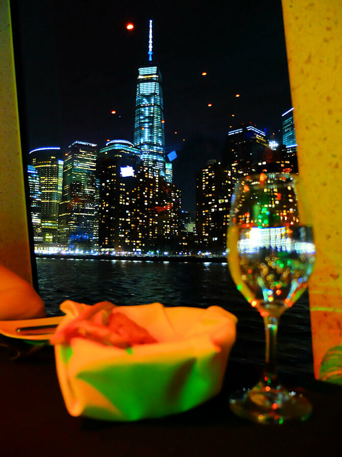 Dinner Cruise in New York - One World Trade