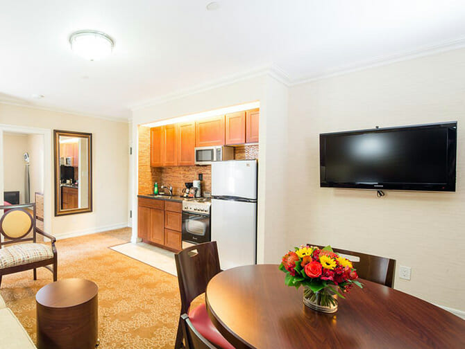 Apartments in New York - Radio City Apartments Interior
