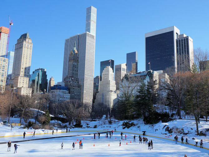 Skating in New York - Wollman Rink