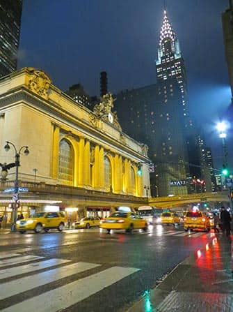 Midtown Manhattan in New York - Grand Central and Chrysler Building