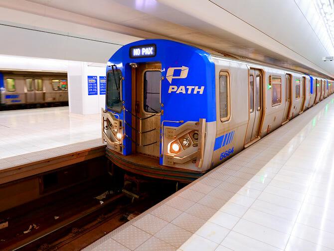 PATH in New York - Train