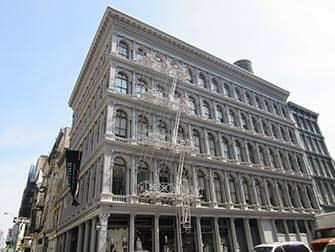 SoHo in New York - Cast-iron Building