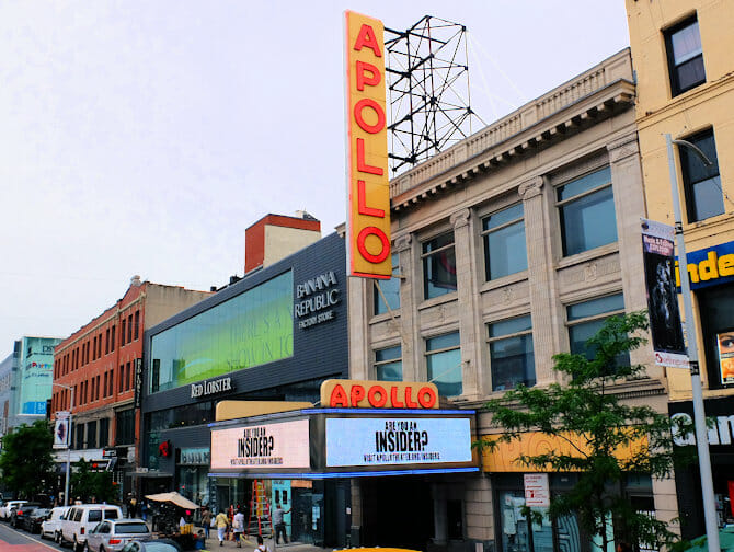 Harlem in New York - Apollo Theatre