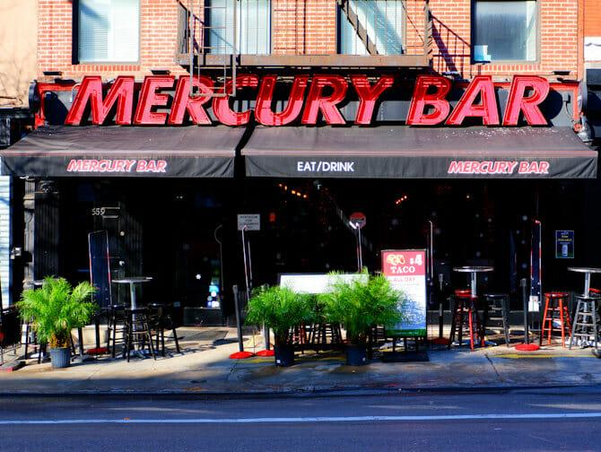 Mercury Bar in New York