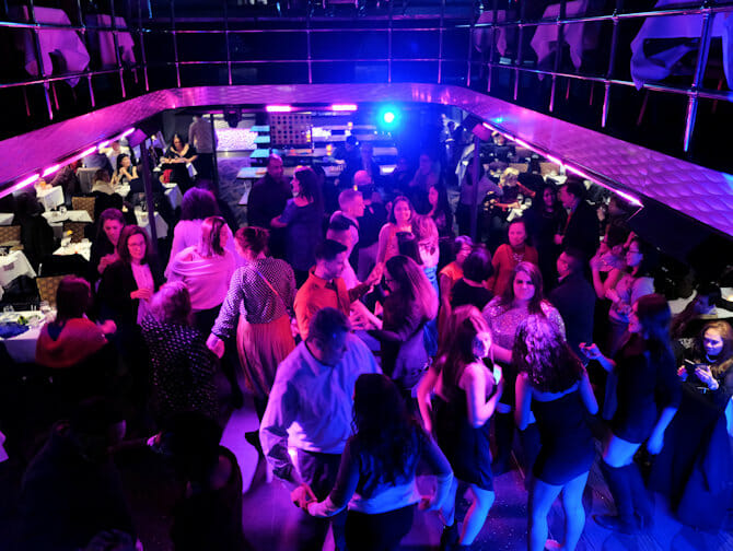 New York Dinner Cruise with Buffet - Dance Floor