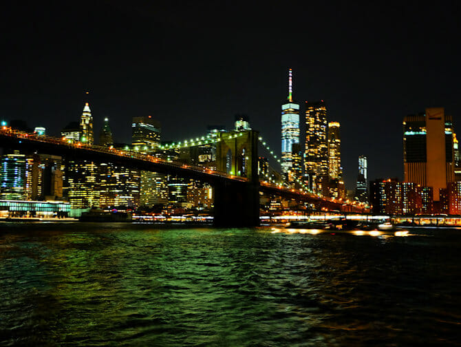 New York Dinner Cruise with Buffet - Manhattan Skyline Bridge