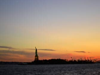 Twilight Boat Cruise - Statue of Liberty