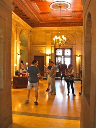 The Frick Collection in New York - inside