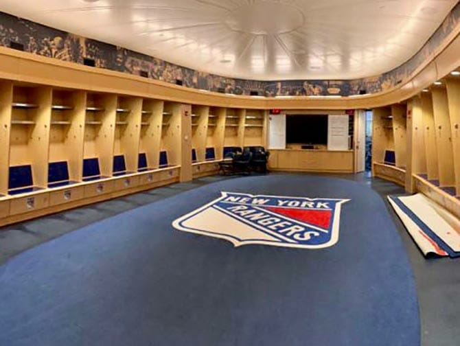 Madison Square Garden in New York - All Access Tour Rangers