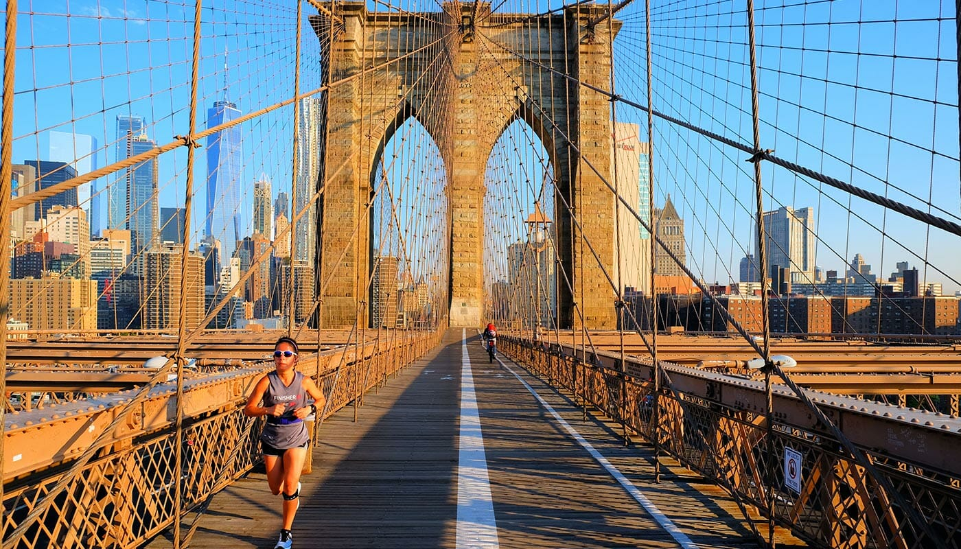 Brooklyn Bridge - Running