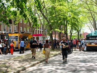 Governors Island in New York - Market