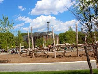 Governors Island in New York - Playground