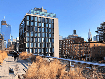 High Line Park in New York - Fall