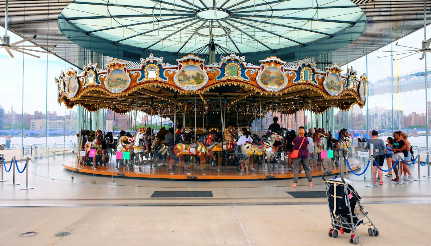 Janes Carousel in Brooklyn - The Carousel