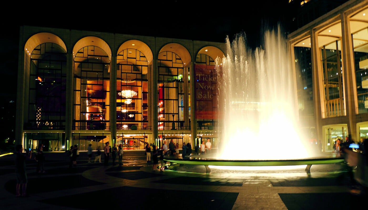 Lincoln Center in New York - Lincoln Center at night