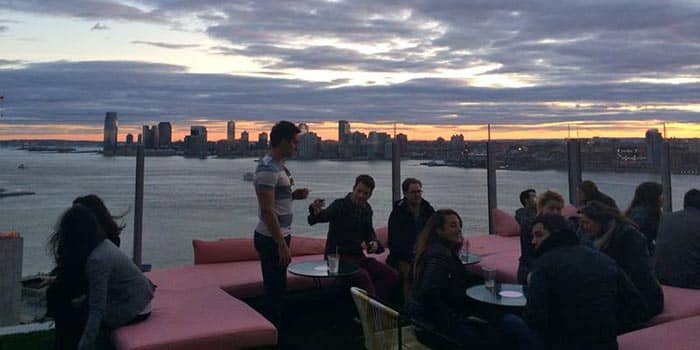 Meatpacking district clubs for Bain new york