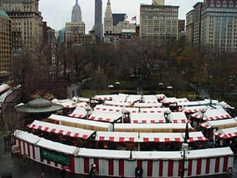 New York Markets - Christmas Market Union Square