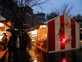 New York Markets - Union Square Christmas Market