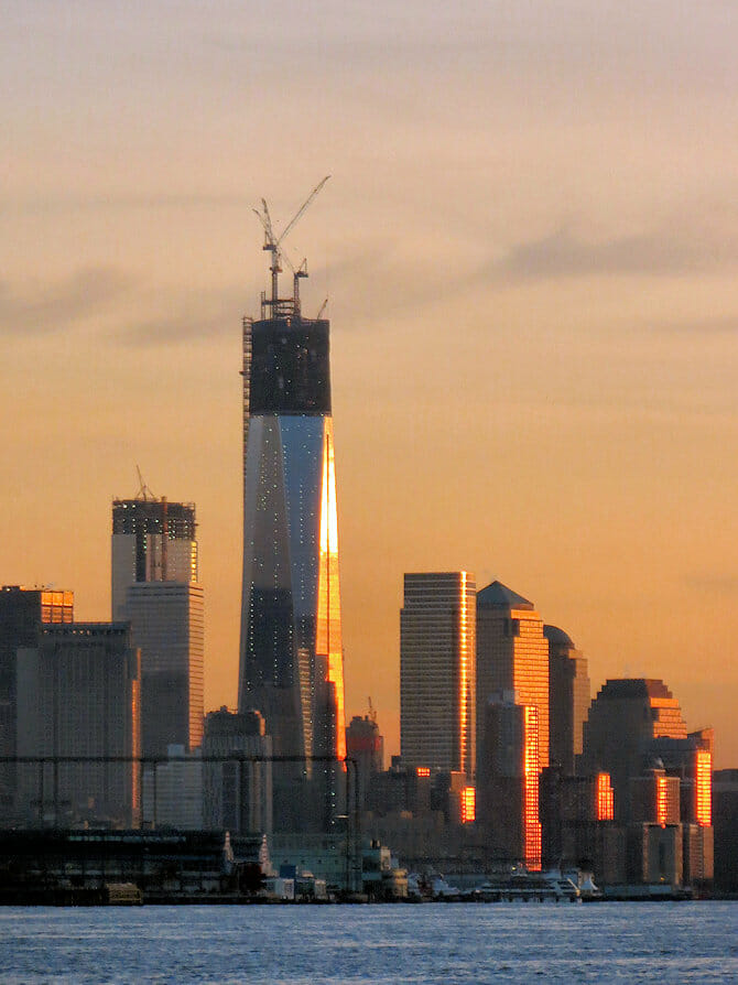 Freedom Tower/One World Trade Center- building
