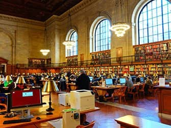 Public Library New York - Interior