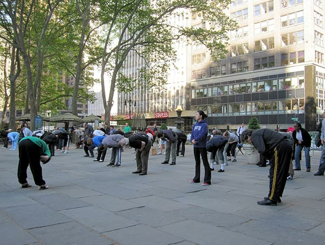 Tai Chi in New York City