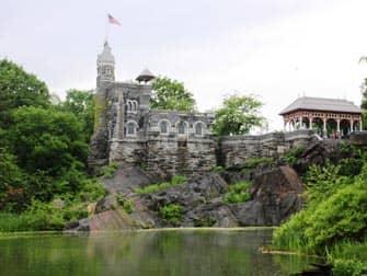 Central Park in New York - Belvedere Castle