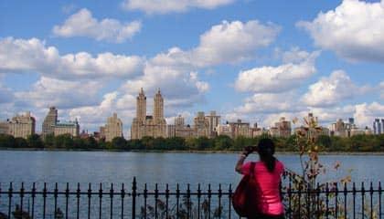 Central Park in New York - Jacqueline Kennedy Onassis Reservoir