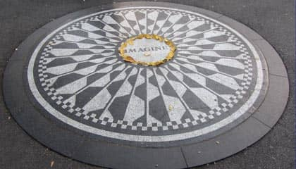 Central Park in New York - Strawberry Fields