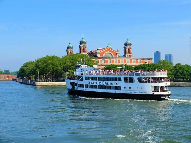 Ellis Island in New York - Statue Cruises