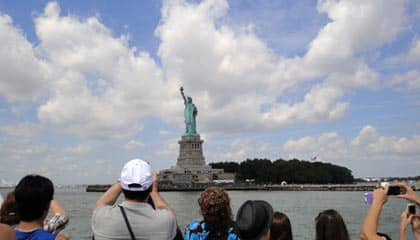 Statue of Liberty - Seen from the boat