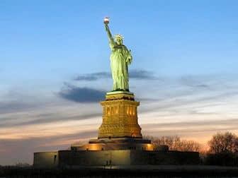 Statue of Liberty - Sunset