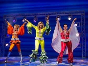 Mamma Mia on Broadway in New York