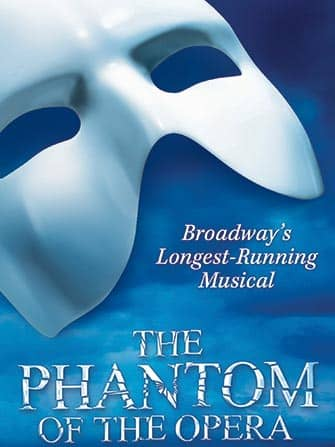 The Phantom of the Opera on Broadway Tickets - poster