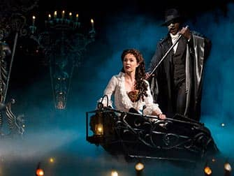 The Phantom of the Opera on Broadway Tickets - boat