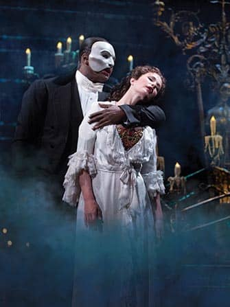 The Phantom of the Opera on Broadway New York City