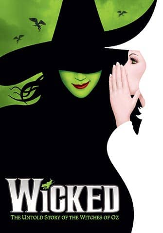 Wicked on Broadway Tickets - poster