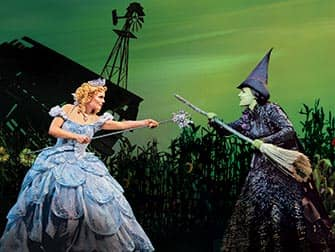 Wicked on Broadway Tickets - cast