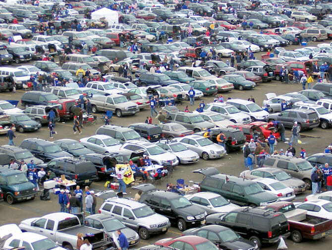New York Giants Tickets - Tailgating