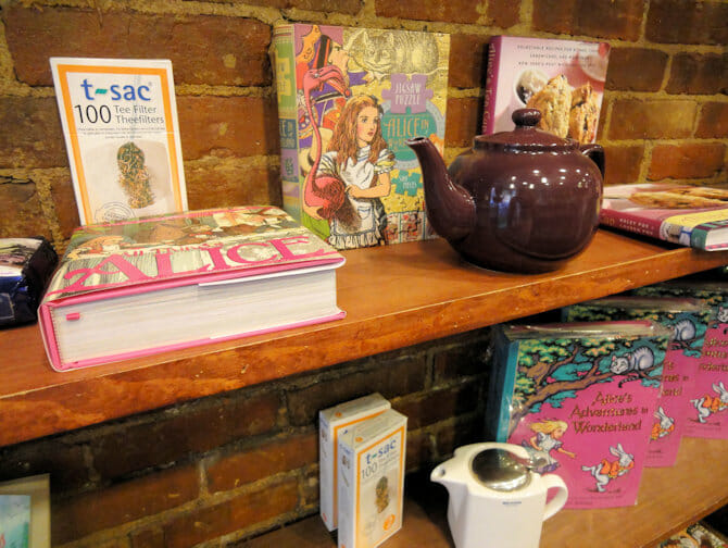 High Tea at Alice's Tea Cup in NYC - Teapot