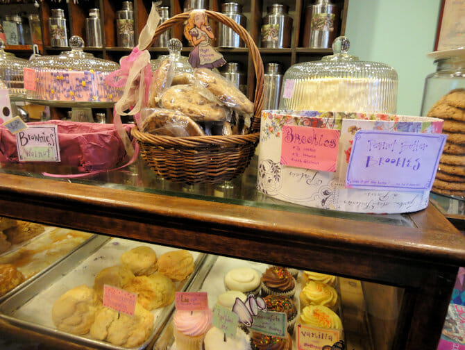 High Tea at Alice's Tea Cup - Sweets