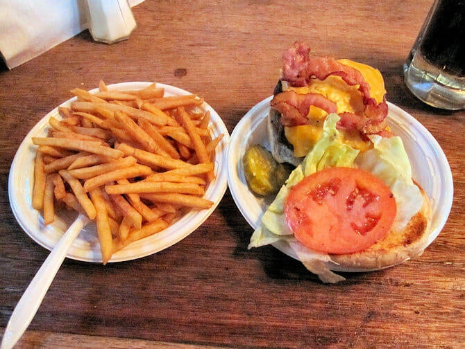 Best Burgers in New York - Corner Bistro burger