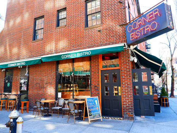 Best Burgers in New York - Corner Bistro
