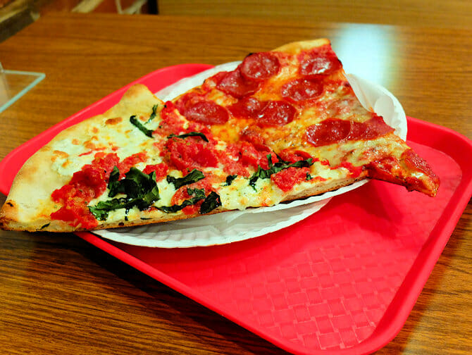 Best pizza in New York - NY Pizza Suprema - slices