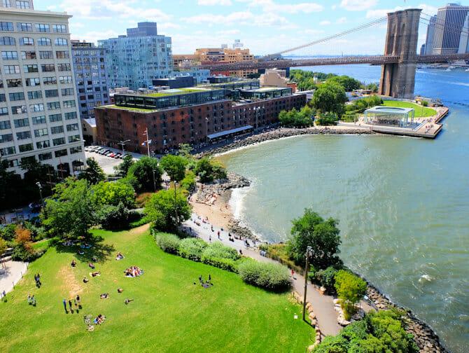 Parks In New York - Brooklyn Bridge Park