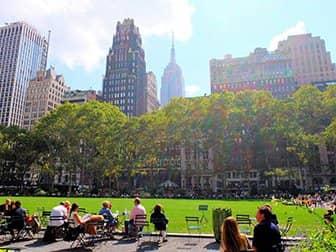 Parks in New York - Bryant Park