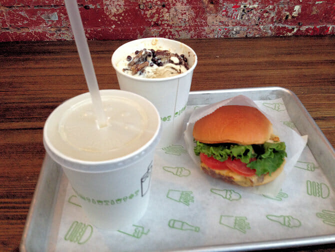 Shake Shack in NYC