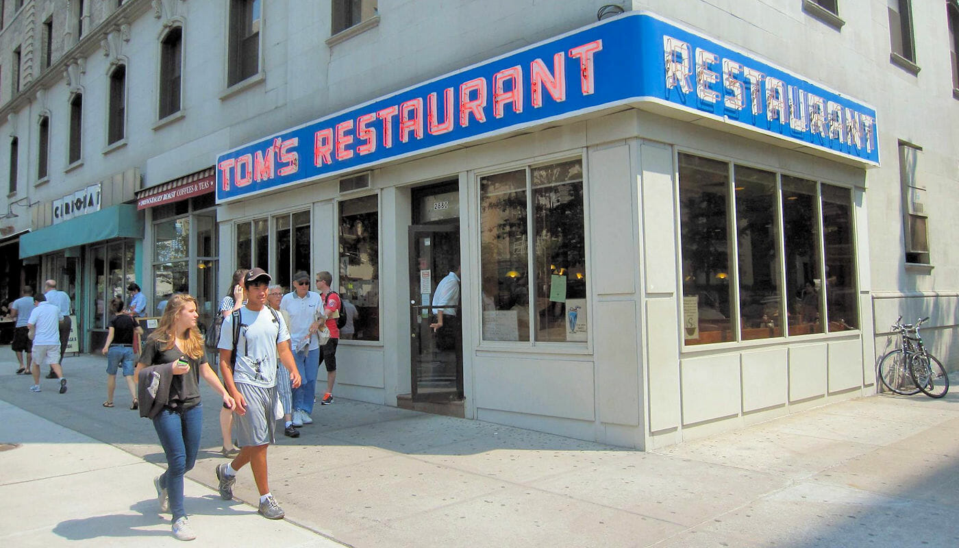 Breakfast in New York - Tom's Restaurant