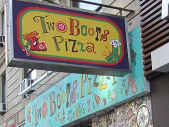 Best pizza in New York - Two Boots Pizza