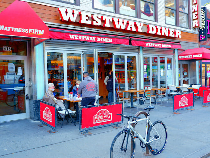 Westway Diner in New York