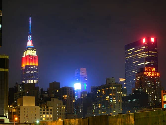 4th of July in New York - Empire State Building
